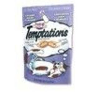 Whiskas Temptations Creamy Dairy Flavor Cat Treats
