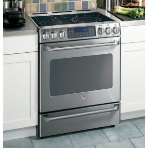 GE Cafe Electric Slide-In Convection Oven CS980SNSS