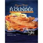 Treasures from the Sea Breaded Flounder