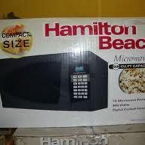 Hamlton Beach Microwave