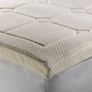 """Therapedic  Grand 3"""" Luxury Quilted Memory Foam Mattress Topper"""