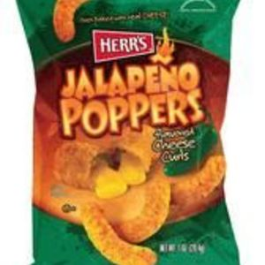 Herr's - Jalapeno Poppers Flavored Cheese Curls