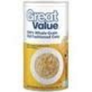 Great Value 100% Whole Grain Old Fashioned Oats