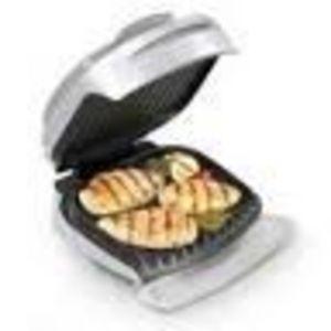 George Foreman Lean Mean Grilling Machine with Bun Warmer