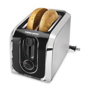 Black & Decker 2-Slice Toaster with Retractable Cord