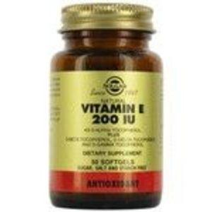 Solgar Vitamin E 200 IU Mixed Tocopherols Softgels