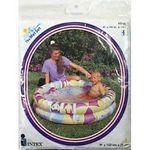 Intex 48 X 10 Inflatable Circles Kiddie Pool By Intex - 8GA Toy