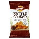 Frito-Lay - Frito Lay Lay's Kettle Cooked Potato Chips, Mesquite BBQ Flavored, 8.5 oz