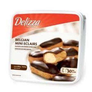 Delizza Patisserie Belgian Mini Eclairs