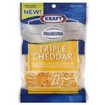 Kraft Triple Cheddar with a Touch of Philadelphia