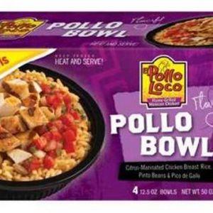 El Pollo Loco Heat and Serve Pollo Bowl