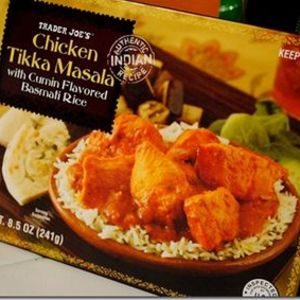 Trader Joe's Chicken Tikka Masala with Cumin Flavored Basmati Rice