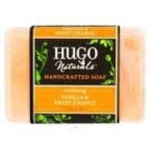 Hugo Naturals Comforting Vanilla & Sweet Orange Handcrafted Soap