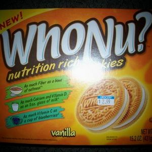 WhoNu? - Nutrition Rich Cookies