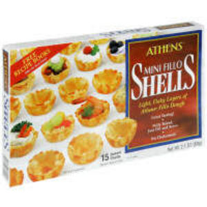 Athens Mini Fillo Shells