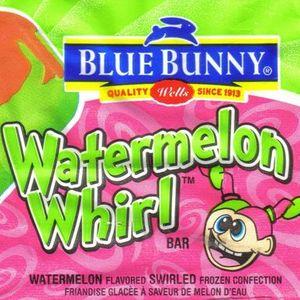 Blue Bunny Watermelon Whirl Frozen Fruit Bar