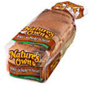 Nature's Own 100% Whole Grain Wheat Bread