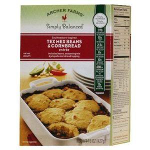 Archer Farms Simply Balanced Southwestern-Inspired Tex-Mex Beans & Cornbread Entree