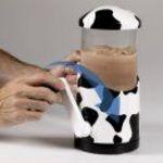 Hog Wild Moo Mixer Hand Crank Milkshake Mixer