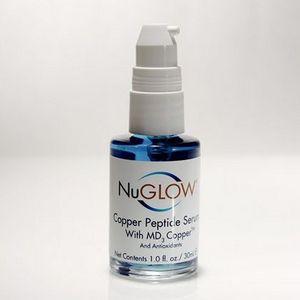 NuGlow Copper Peptide Serum with MD3 Copper & Antioxidants