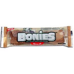 Bonies Natural Dental Bones for Dogs, Regular
