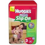 Huggies Little Movers Slip-On Diapers