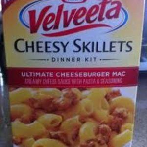 Velveeta Cheesy Skillets Dinner Kit-Ultimate Cheeseburger Mac