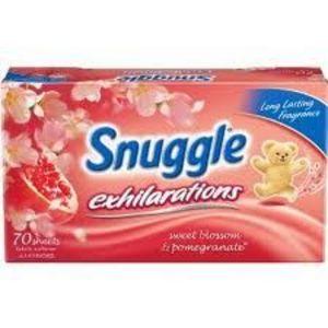 Snuggle Exhilarations Sweet Blossom & Pomegranate Fabric Softener Sheets