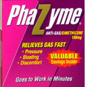 Phazyme Ultra Strength Gas Relief, 180 mg, Softgels