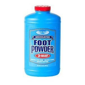 Assured Medicated Foot Powder