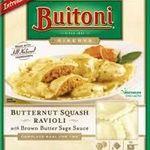 Buitoni Butternut Squash Ravioli with Brown Butter Sage Sauce