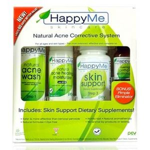 Happy Me Skincare Natural Acne Corrective System