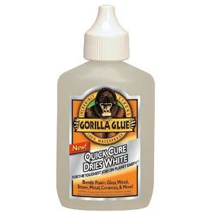 Gorilla Glue Dries White All-Purpose Adhesive