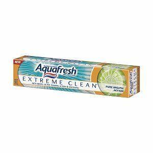 Aquafresh Extreme Clean Pure Breath Action Toothpaste