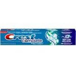 Crest Complete Multi-Benefit Whitening + Deep Clean Toothpaste