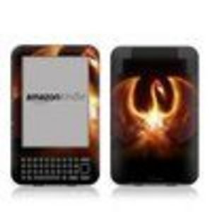 MyGift Fire Dragon Design Protective Decal Skin Sticker for Amazon Kindle 3 (Latest Generation, 6 inch) E-B...