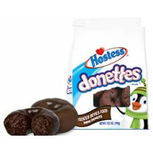 Hostess - Frosted Devil's Food Donettes