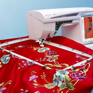 Husqvarna Viking Designer Diamond deLuxe Sewing & Embroidery Machine