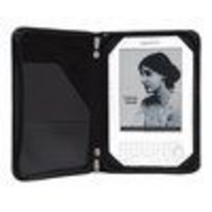 "Grantwood Technology SimpleCase for Kindle 3, Leather Edition - (Fits 6"" Display of , 3rd Generation) BLACK"