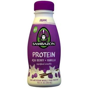 Sambazon - Organic Protein Superfood Smoothie, Acai Berry and Vanilla