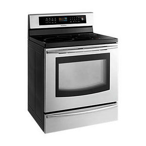 Samsung Freestanding Induction Range FTQ307NWGX