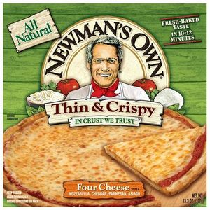 Newman's Own Thin & Crispy Four Cheese Pizza