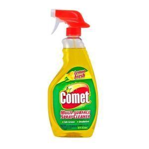 Comet Multi-Surface Spray Cleaner, Lemon Fresh