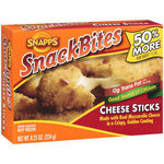 Snapps Snackbites Cheese Sticks Made With Real Mozzarella Cheese