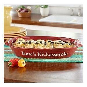 Personal Creations Personalized Kitchen Casserole Dish