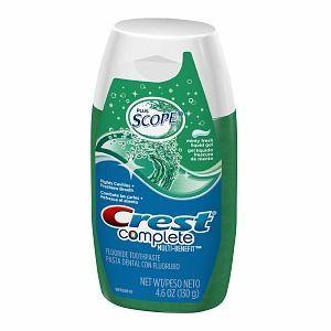Crest Fluoride Anticavity Toothpaste, Liquid Gel
