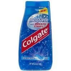 Colgate Max Fresh With Mini Breath Strips Whitening Liquid