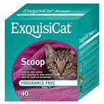 ExquisiCat Scoop Cat Litter