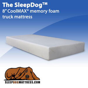 "SleepDogMattress CoolMAX 8"" Memory Foam Truck Mattress"