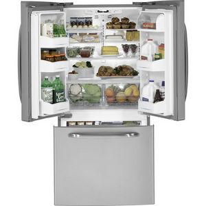 GE Bottom Freezer French Door Refrigerator GFSS2HCYSS